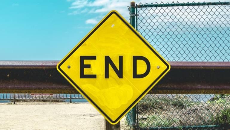 Nu vill jag tala om slutet!