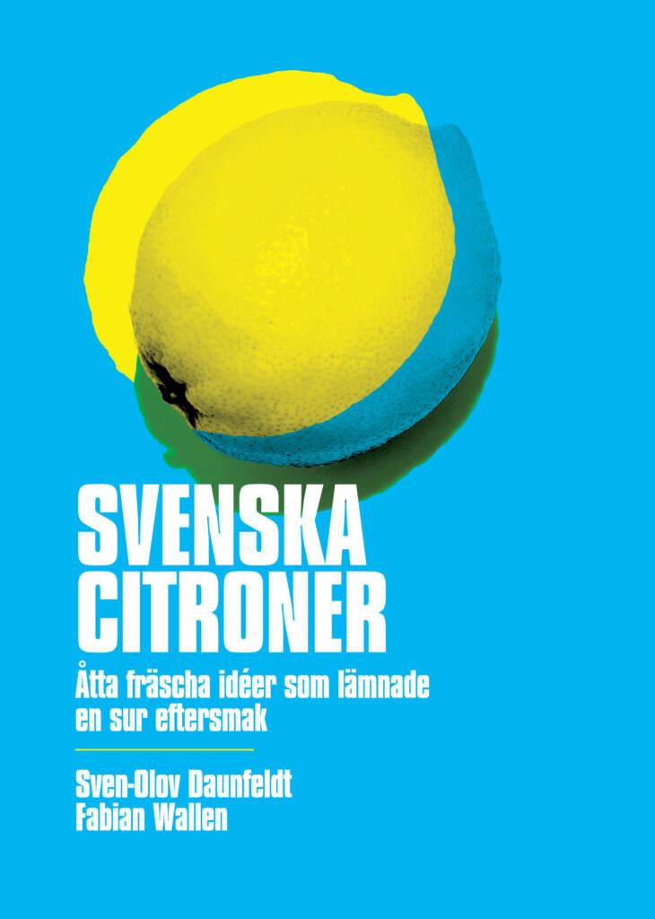 Svenska citroner framsida