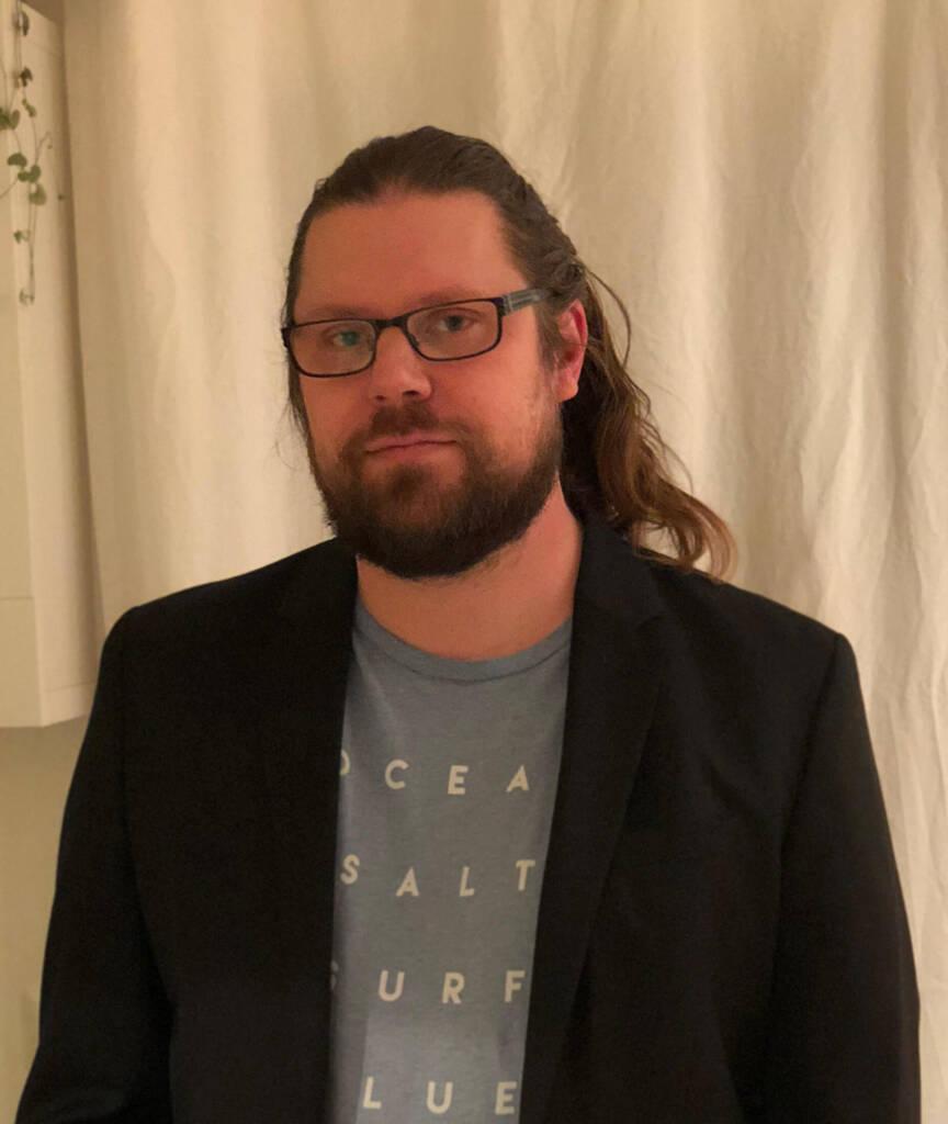 Forfattarfoto Thomas Hansen